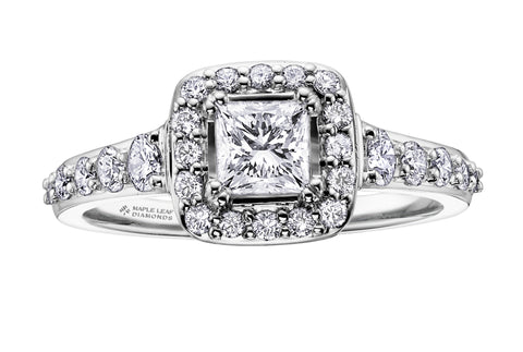 ML118 Canadian Diamond Engagement Ring