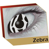 Zebra Coloured Contacts (Comfort)