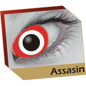 Assasin Coloured Contacts (Comfort)