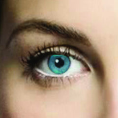 Aqua Blue Coloured Contacts (Comfort)