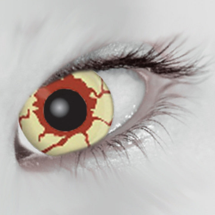 Blood Shot Coloured Contacts (Comfort)
