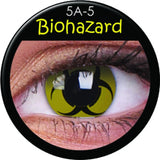 Bio Hazard Coloured Contacts