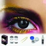 Black Out Coloured Contacts (Kit)