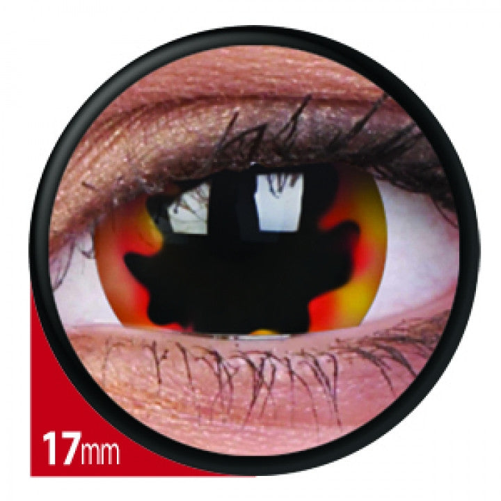 Blackhole Sun Mini Scleral Coloured Contacts