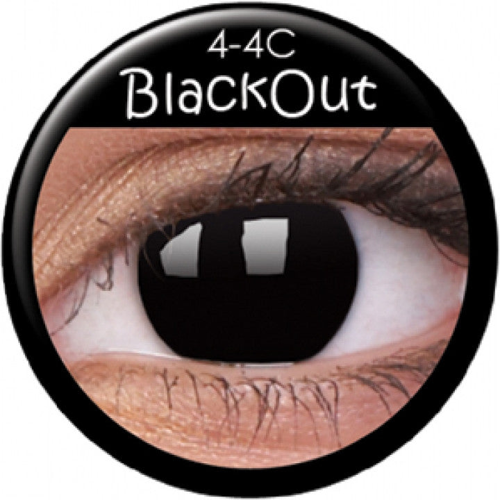 Blackout Coloured Contacts