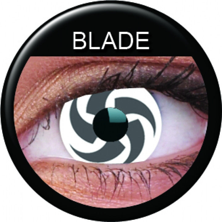Blade Coloured Contacts