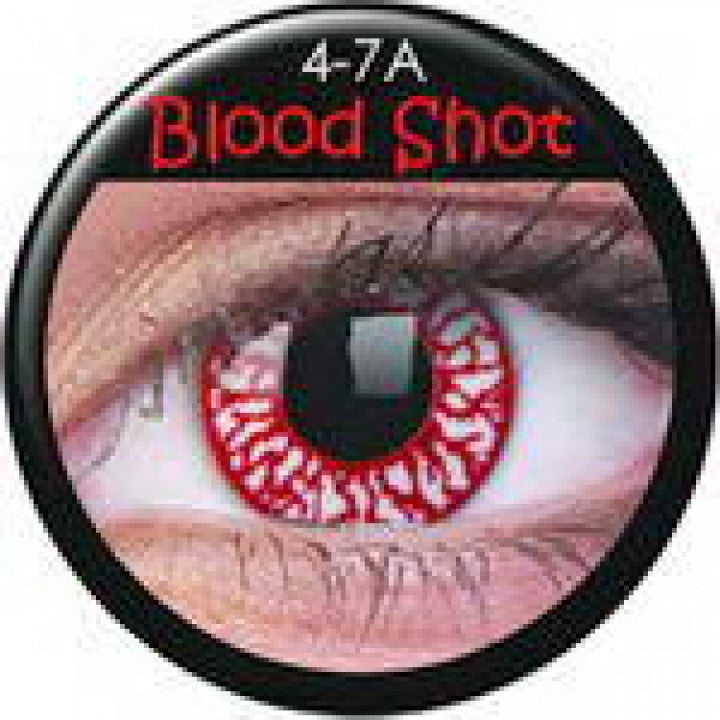Blood Shot Coloured Contacts
