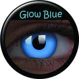 Blue Glow Coloured Lenses