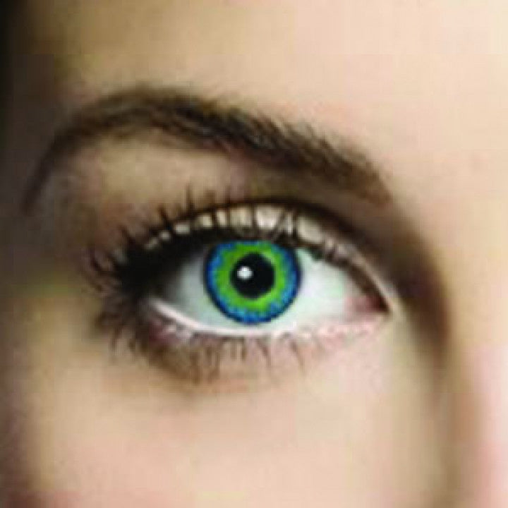 Blue Jade Coloured Contacts (Comfort)