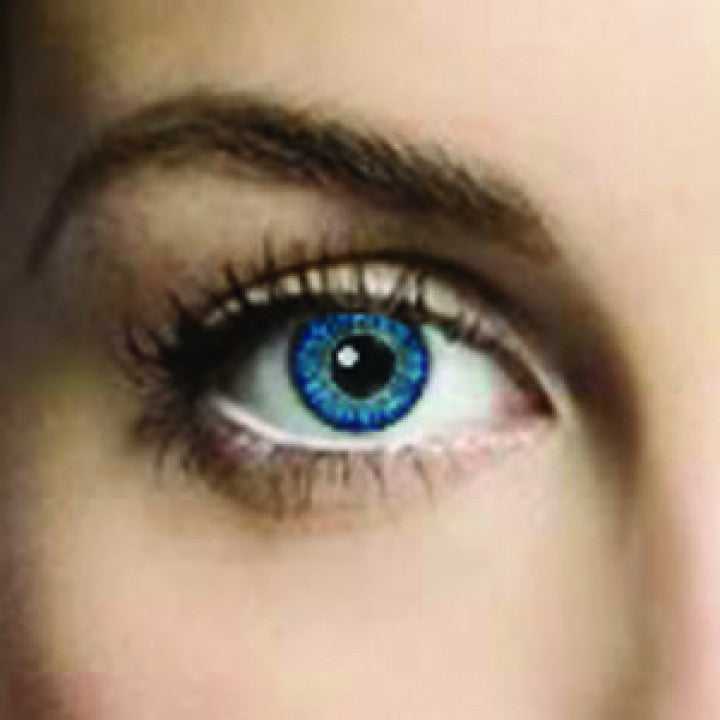 Blue Rush Coloured Contacts (Comfort)