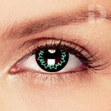 Butterfly Green Coloured Contacts