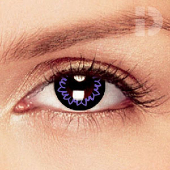 Butterfly Violet Coloured Contacts
