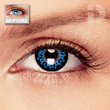 Butterfly Blue Coloured Contacts