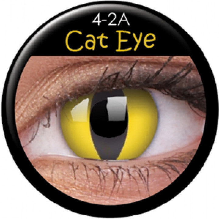 Cat Eye Coloured Contacts