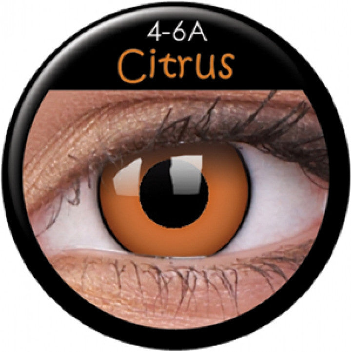 Citrus Coloured Contacts