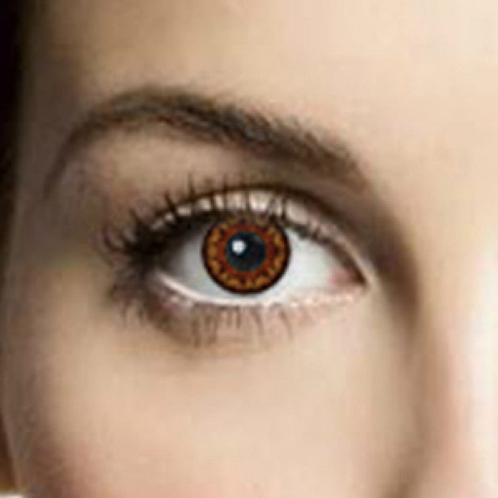 Coco Brown Coloured Contacts (Comfort)
