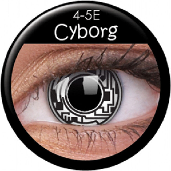 Cyborg Coloured Contacts