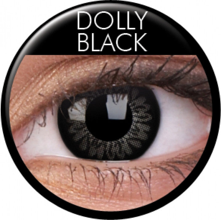 Dolly Black Colour Contacts