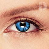 Dolly Eye Blue Coloured Contacts