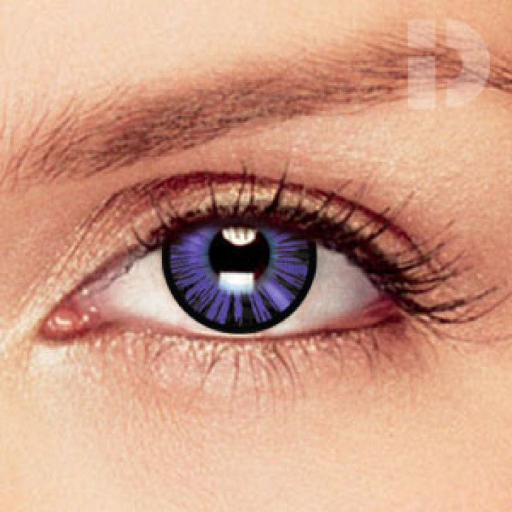 Dolly Eye Violet Coloured Contacts