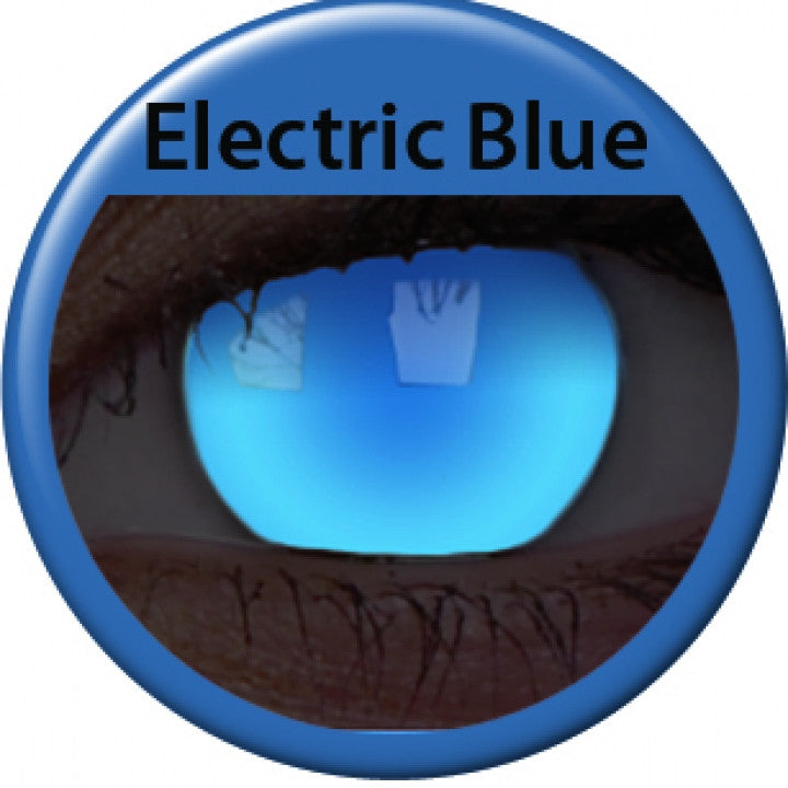 Electric Blue Coloured Lenses