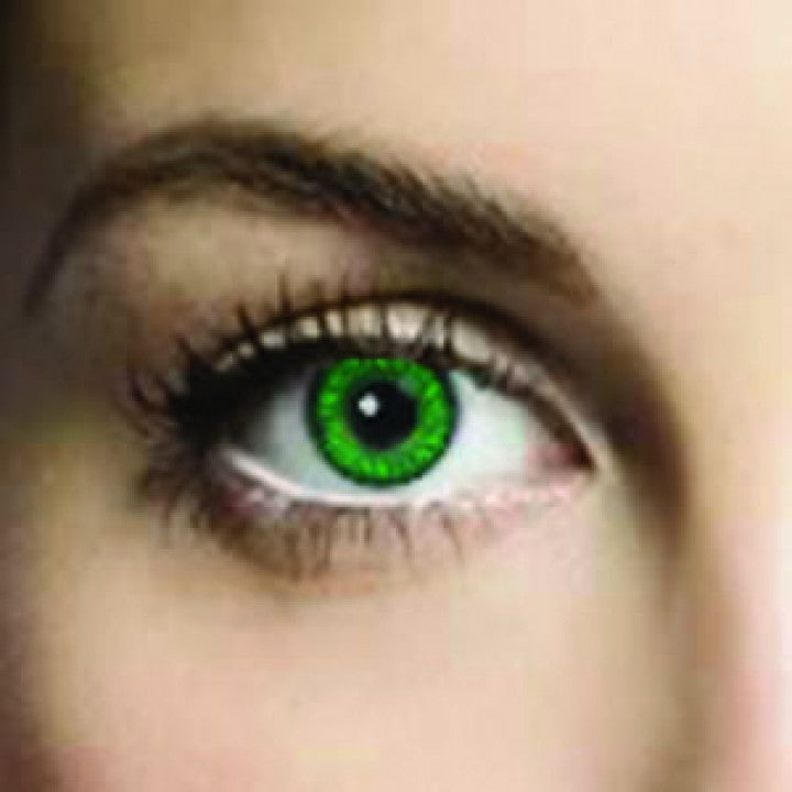 Emerald Green Coloured Contacts (Comfort)