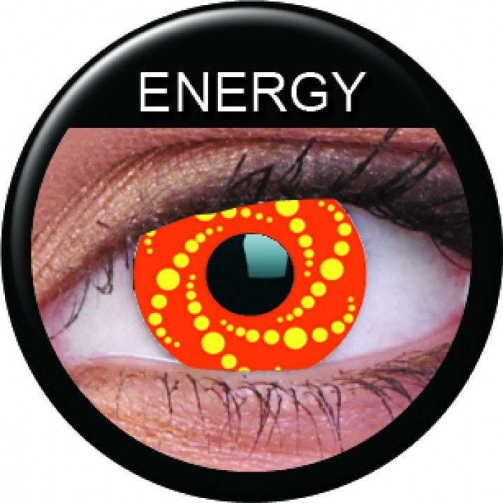 Energy Coloured Contacts
