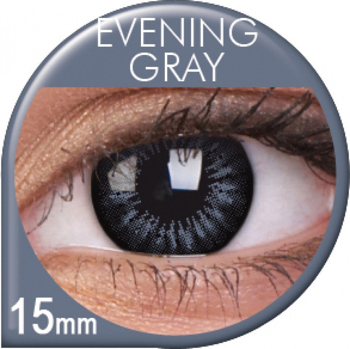 Evening Grey Coloured Contacts