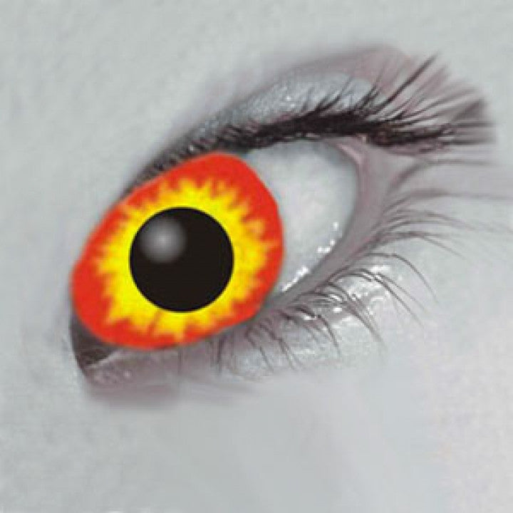 Flame Eyes Coloured Contacts (Comfort)