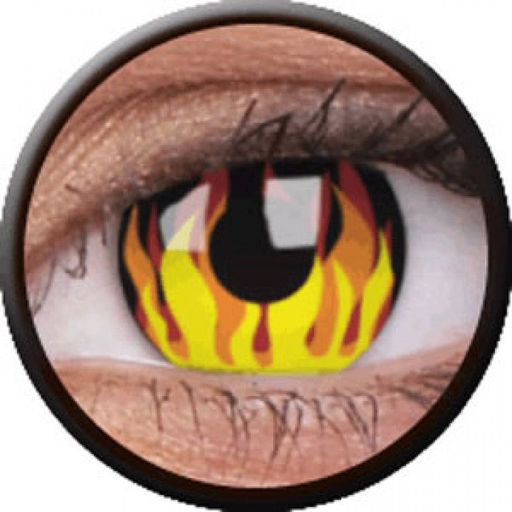 Flame Hot Coloured Contacts