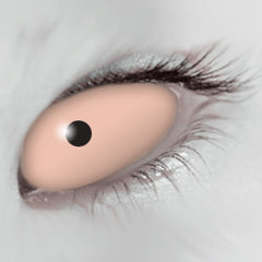 Flesh Scleral Full Eye Coloured Contacts