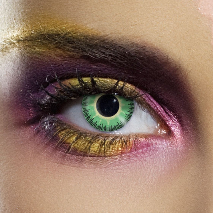 Fusion Green / Yellow Coloured Contacts
