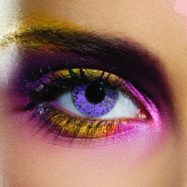 Glamour Violet Coloured Contacts