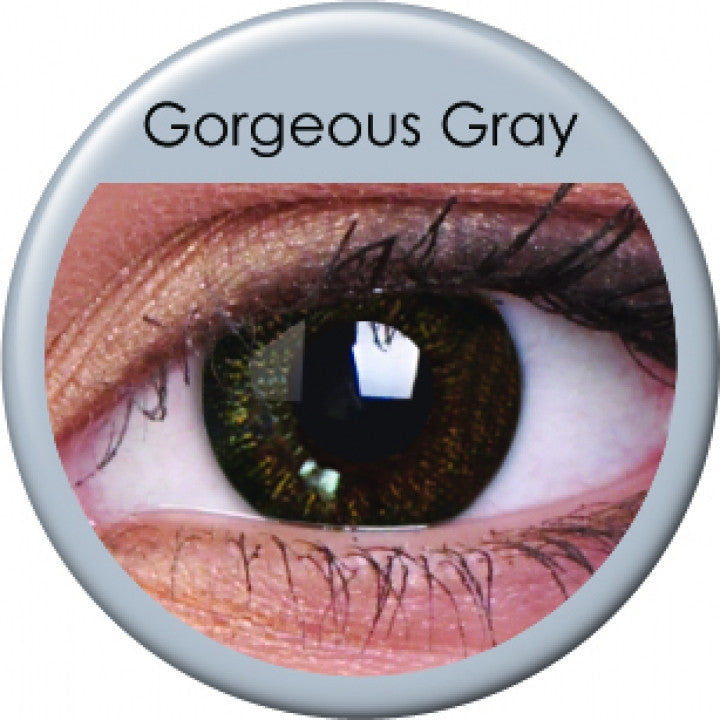 Gorgeous Grey Coloured Contacts