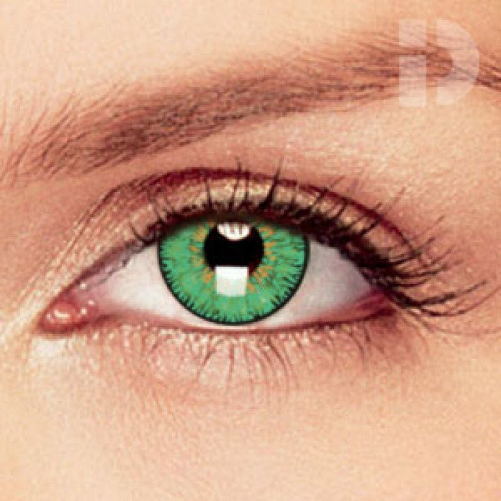 Green Coloured Contacts