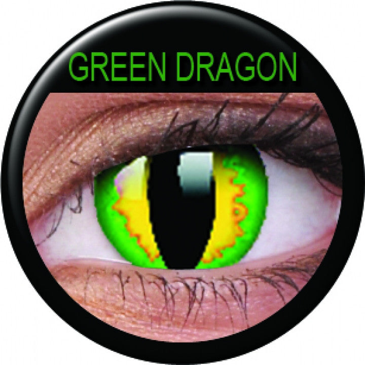 Green Dragon Colour Contacts