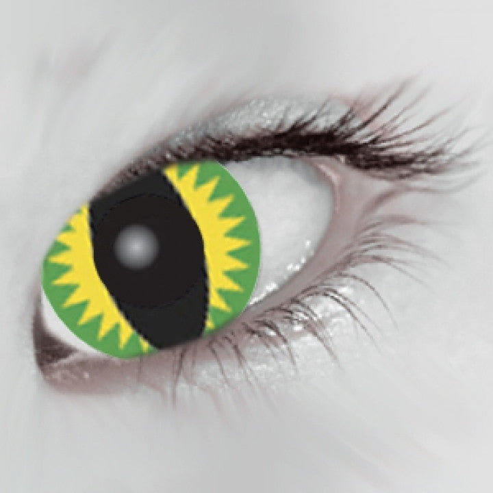 Green Dragon Coloured Contacts (Comfort)