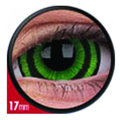 Green Goblin Mini Scleral Coloured Contacts