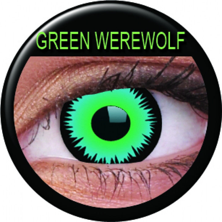Green Werewolf Coloured Contacts