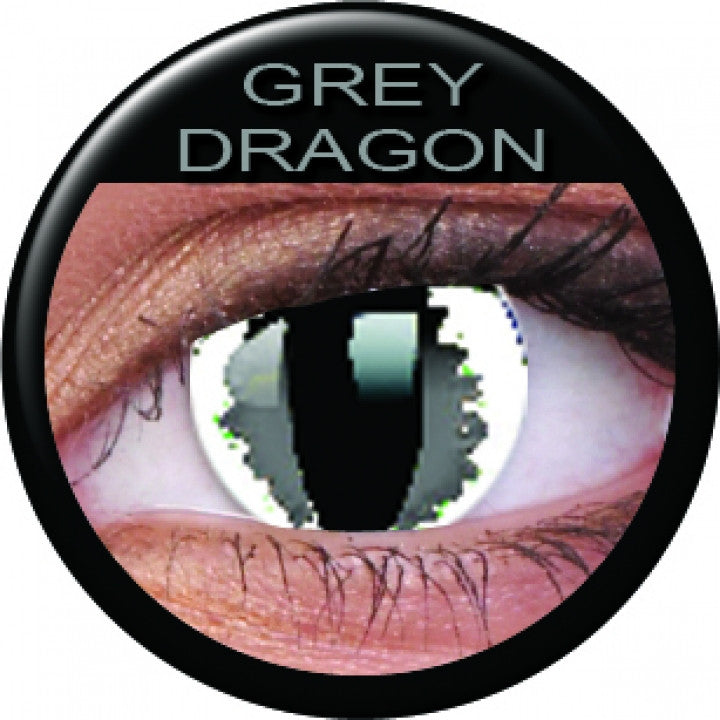 Grey Dragon Coloured Contacts