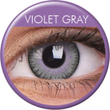 Grey Violet Coloured Contacts