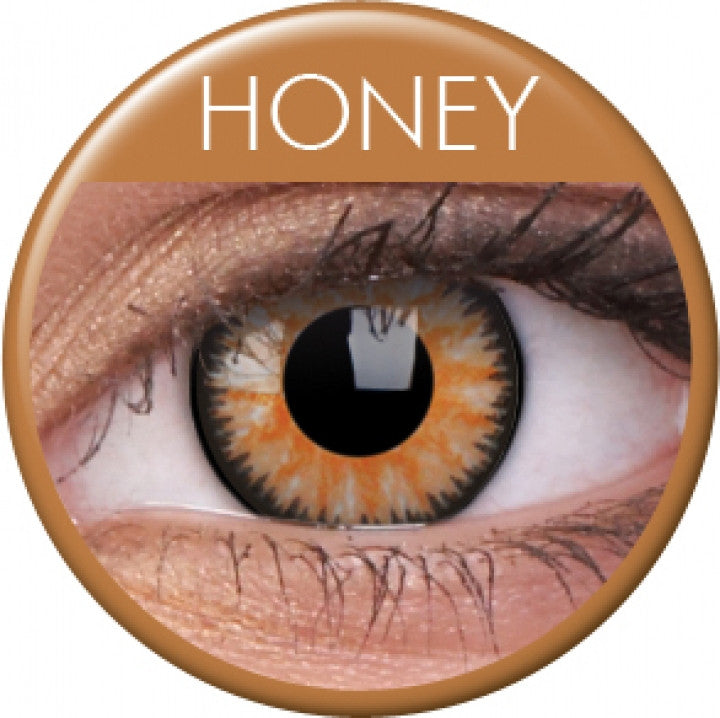 Honey Coloured Contacts