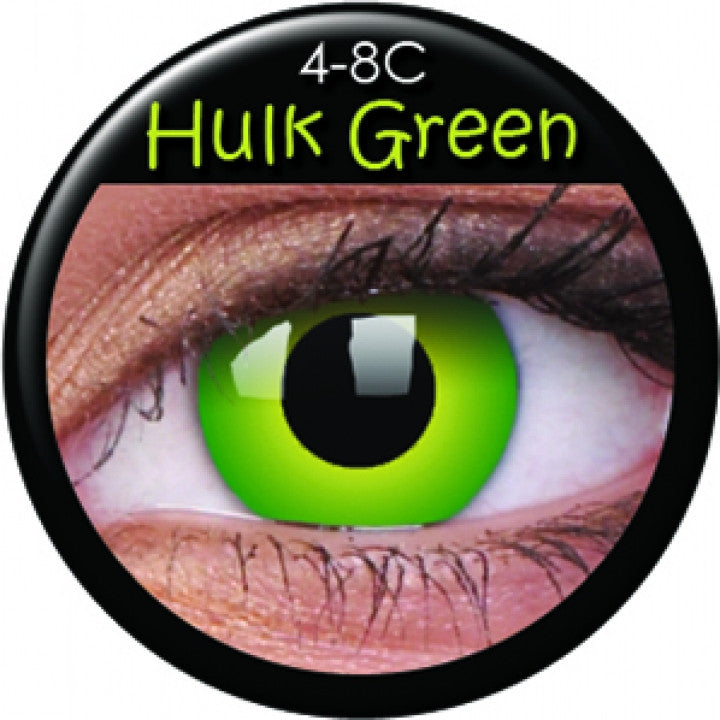 Hulk Green Coloured Contacts