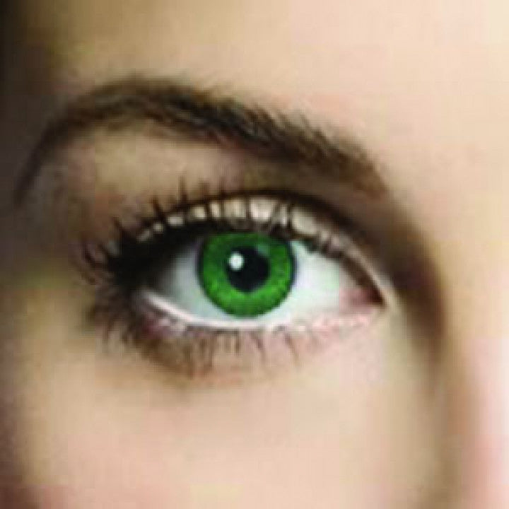 Jade Green Coloured Contacts (Comfort)