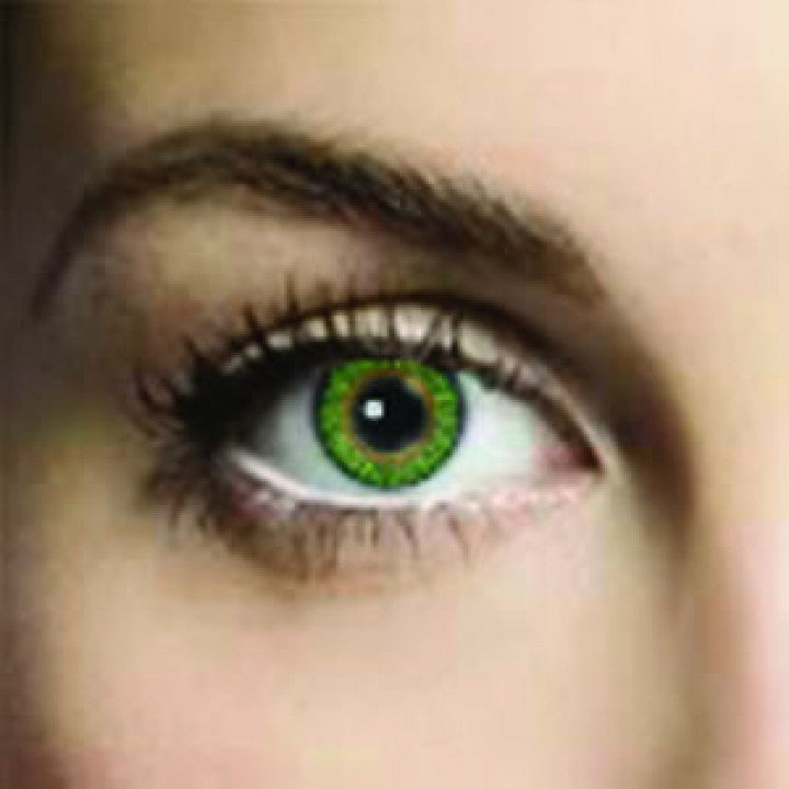 Lime Green Coloured Contacts (Comfort)