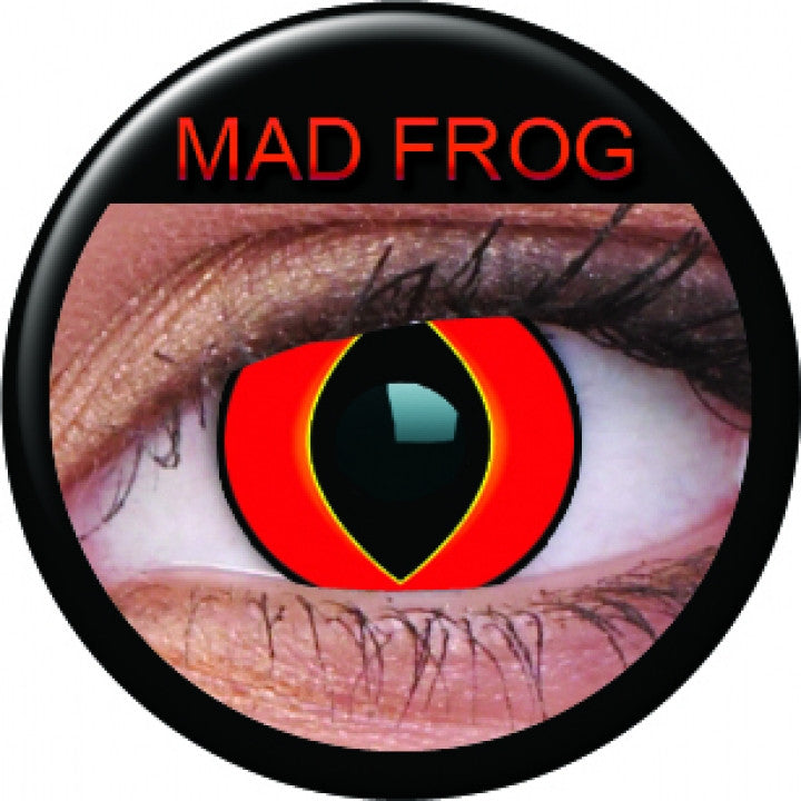 Mad Frog Coloured Contacts