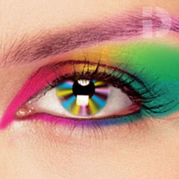 Multicoloured Coloured Contacts