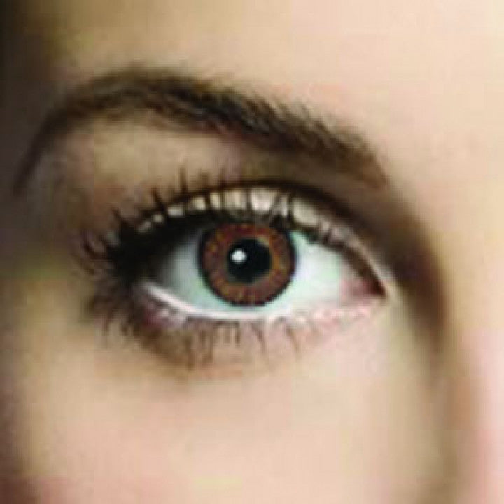 Oak Brown Coloured Contacts (Comfort)