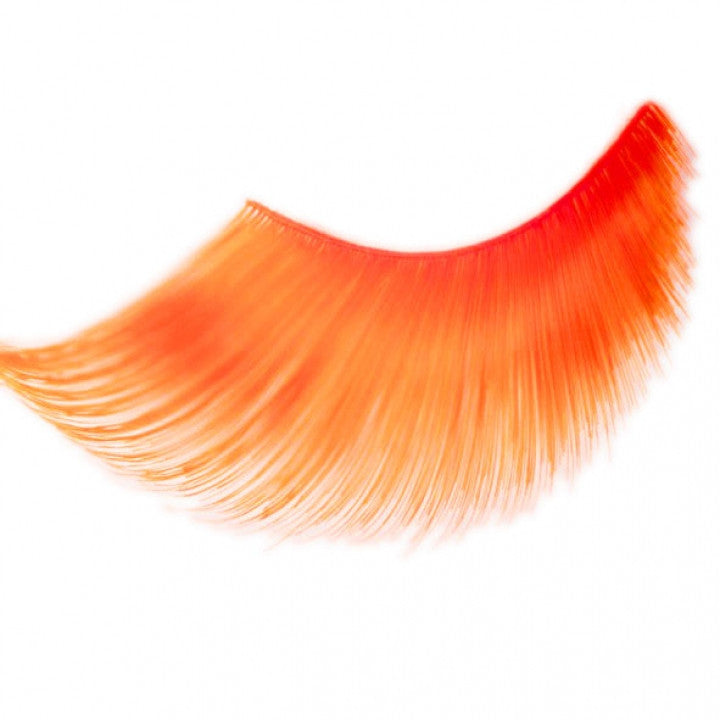Orange False Eye Lashes