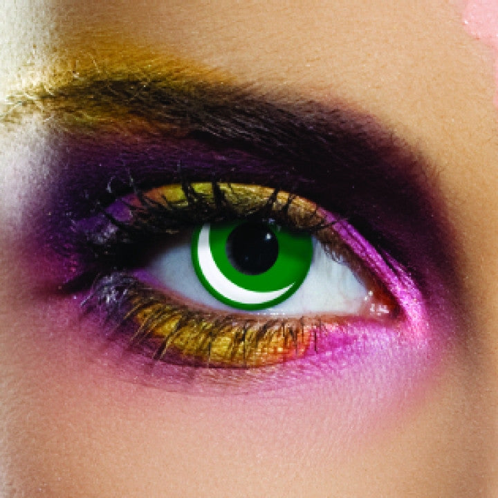 Pakistan Flag Coloured Contacts